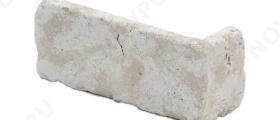 """Угловые камни """"Кирпичик"""" (Галтованный) »  Пиленый с 6 сторон, h-60мм"""