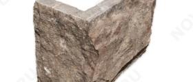 """Угловые элементы """"Плитка из камня"""" (Скала) »  Пиленый с 5 сторон, h-200мм, L-Погон"""