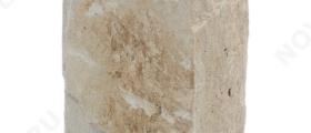 """Угловые камни """"Плитка"""" (Скала) »  Пиленый с 5 сторон, h-100мм, L-Погон"""