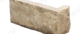 """Угловые камни """"Кирпичик"""" (Скала) »  Пиленый с 5 сторон, h-60мм"""