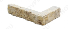 """Угловые камни """"Полоски"""" (Шуба) »  Пиленый с 5 сторон, h-20мм, L-Погон"""