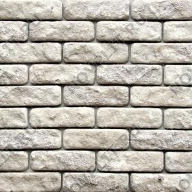 """Камень под кирпич доломит бело серый """"изборский"""" - 60х200 мм, шуба, галтованный, пиленый с 5 сторон"""