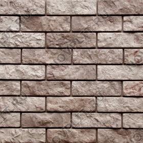 """Камень под кирпич доломит бурый """"серо-малиновый"""" - 60х200 мм, шуба, галтованный, пиленый с 5 сторон"""