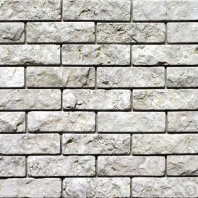"""Камень под кирпич доломит светло-серый """"мустанг"""" - 60х200 мм, шуба, галтованный, пиленый с 5 сторон"""
