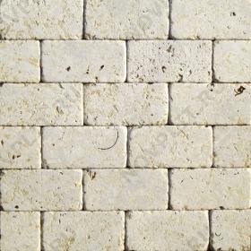 """Камень для пола """"Кирпич"""" доломит серый с желтым - 200х100х20 мм, галтованный, пиленый с 6 сторон"""
