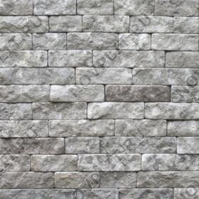 """Камень лапша """"Полоска"""" доломит серый - 50хПогон мм, шуба, галтованный, пиленый с 5 сторон"""