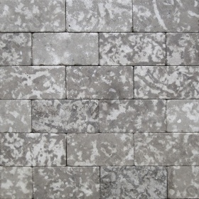 """Камень для пола """"Кирпич"""" доломит серый - 200х100х20 мм, галтованный, пиленый с 6 сторон"""