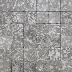 """Камень для пола """"Квадрат"""" доломит серый - 50х50х20 мм, галтованный, пиленый с 6 сторон"""