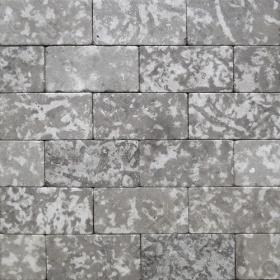"""Камень для пола """"Кирпич"""" доломит серый - 100х50х20 мм, галтованный, пиленый с 6 сторон"""