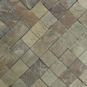 Брусчатка из камня (Шуба) »  Пиленый с 4 сторон, s-4 см (40 мм), h-100х100 мм