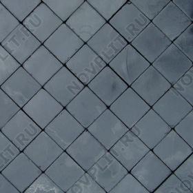 """Брусчатка """"Квадрат"""" шунгит тёмно-серый (чёрный) - 100х100х50 мм, галтованный, пиленый с 6 сторон"""