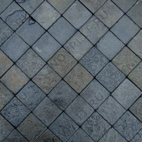"""Брусчатка """"Квадрат"""" шунгит тёмно-серый (чёрный) - 50х50х50 мм, шуба, галтованный, пиленый с 5 сторон"""
