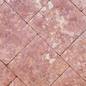 """Брусчатка """"Квадрат"""" доломит малиновый с розовым - 300х300х50 мм, галтованный, пиленый с 6 сторон"""