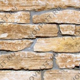 """Камень лапша """"Горбушка"""" доломит бежевый - Погонх100-200 мм, шуба, пиленый с 1 стороны"""