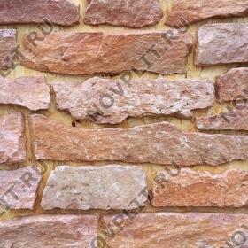 """Камень лапша """"Горбушка"""" доломит малиновый с розовым - Погонх20-40 мм, шуба, пиленый с 1 стороны"""