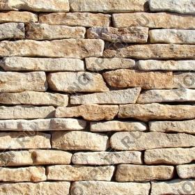 """Камень лапша """"Горбушка"""" доломит бежевый - Погонх20-40 мм, шуба, пиленый с 1 стороны"""