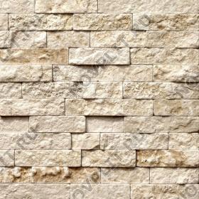 """Камень лапша """"Полоска"""" доломит бежевый - 50хПогон мм, шуба, галтованный, пиленый с 5 сторон"""