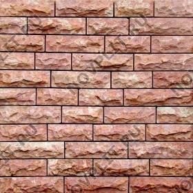 """Камень лапша """"Полоска"""" доломит малиновый с розовым - 50хПогон мм, со сколом, пиленый с 5 сторон"""