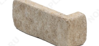 """Угловые камни """"Кирпичик"""" (Шуба, галтованный) »  Пиленый с 5 сторон, h-60мм"""