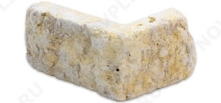"""Угловые камни """"Полоски"""" (Шуба, галтованный) »  Пиленый с 5 сторон, h-50мм, L-Погон"""