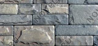 """Камень лапша """"Полоска"""" (скала, галтованный) »  Пиленый с 5 сторон, h-50, L-погон"""