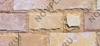 Плитка из камня (Скала) »  Пиленый с 6 сторон, h-100мм, L-Погон