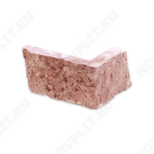 """Угловые камни """"Стрелки"""" (Шуба) »  Пиленый с 3 сторон, h-60мм, L-Погон"""