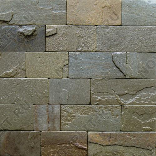 Плитка из камня (Шуба, галтованный) »  Пиленый с 4 сторон, h-10 см (100 мм), L-Погон