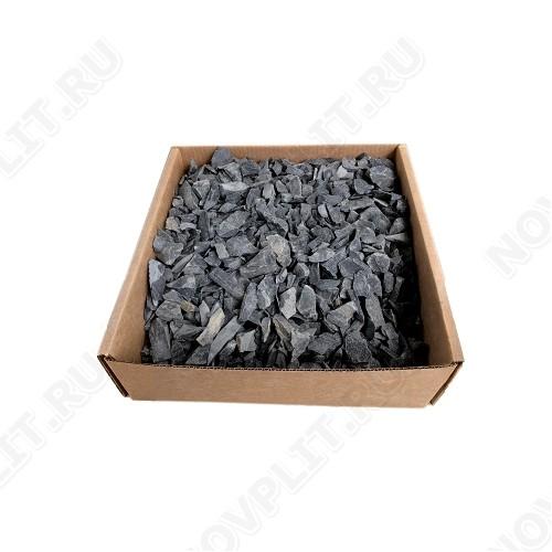 Засыпка для колодца шунгит тёмно-серый (чёрный) - 20-30 мм, необработанный