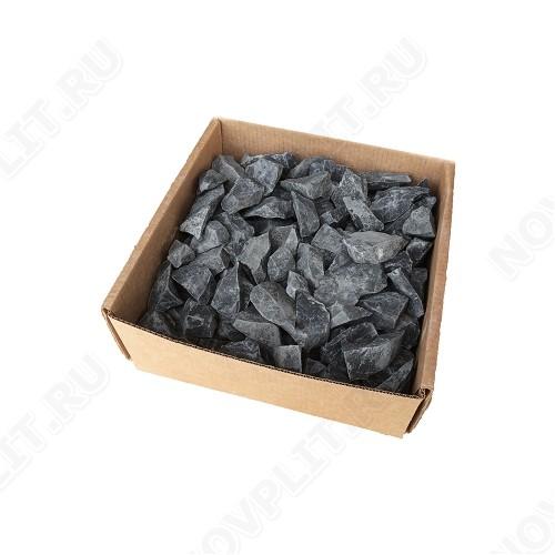 Засыпка для колодца шунгит тёмно-серый (чёрный) - 30-50 мм, необработанный