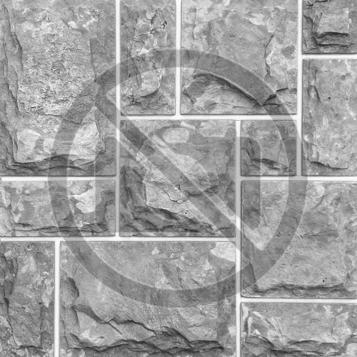 """Римская кладка №3 доломит бело серый """"изборский"""" - со сколом, пиленый с 5 сторон"""
