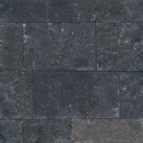"Плитка ""Шуба"" шунгит тёмно-серый (чёрный) - 200хПогон мм, шуба, пиленый с 5 сторон"
