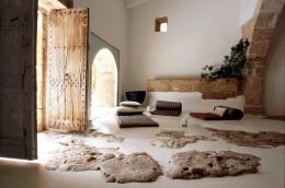 Как облицевать пол натуральным камнем - доломитовыми плитами