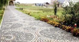 Садовые дорожки: материалы и их применение. Садовые дорожки из камня и дерева